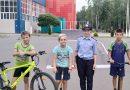 Сотрудники Быховского РОВД посетили скейт-площадку и рассказали детям о безопасности