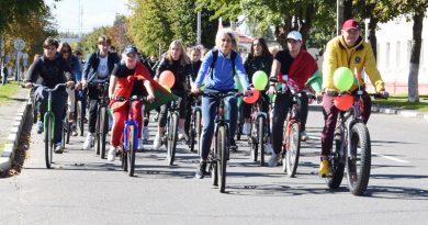 Велопробег «Единство молодежи — сила Беларуси» прошел на Быховщине (фото)